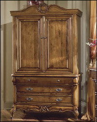 Delicieux Whether Your Storage Needs Are For Video Components Or Clothing, This 2  Piece Armoire Will Work. Pocket Doors, Video Component Storage, And More,  ...