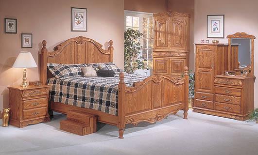 Oakwood interiors bedroom furniture oak wood