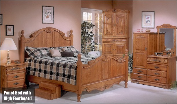 oakwood versailles bedroom furniture. manufacturing and finishing techniques. all drawers are full english dove tail construction glide on dual, steel ball bearing, oakwood versailles bedroom furniture